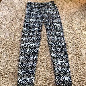 Pants - tiger print leggings